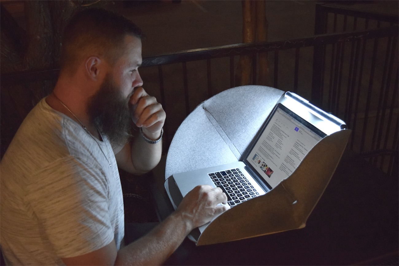 Alcove Mobile Laptop Privacy Workstation