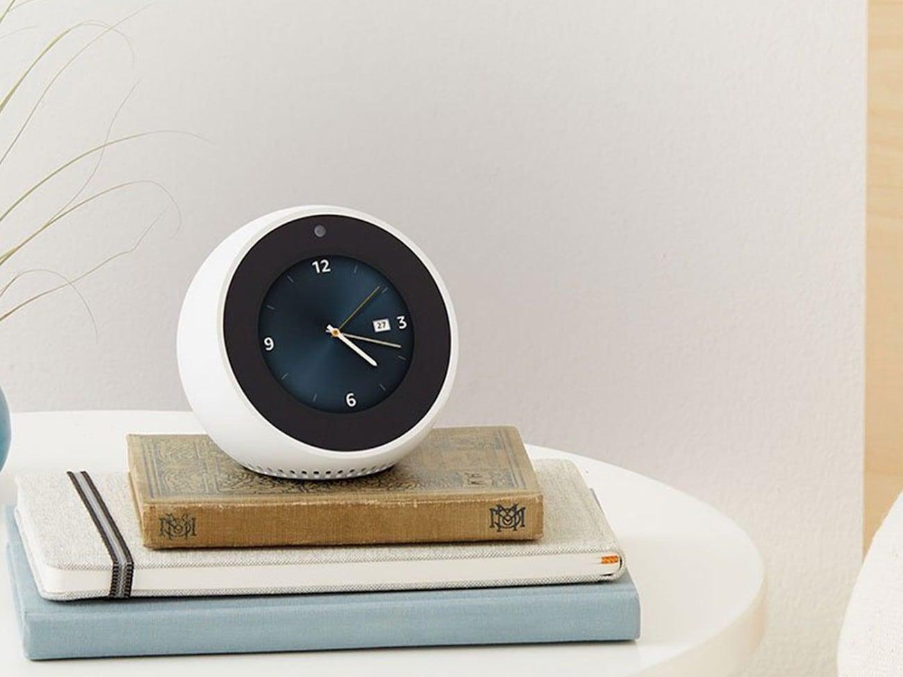 Amazon Echo Spot Alexa Alarm Clock