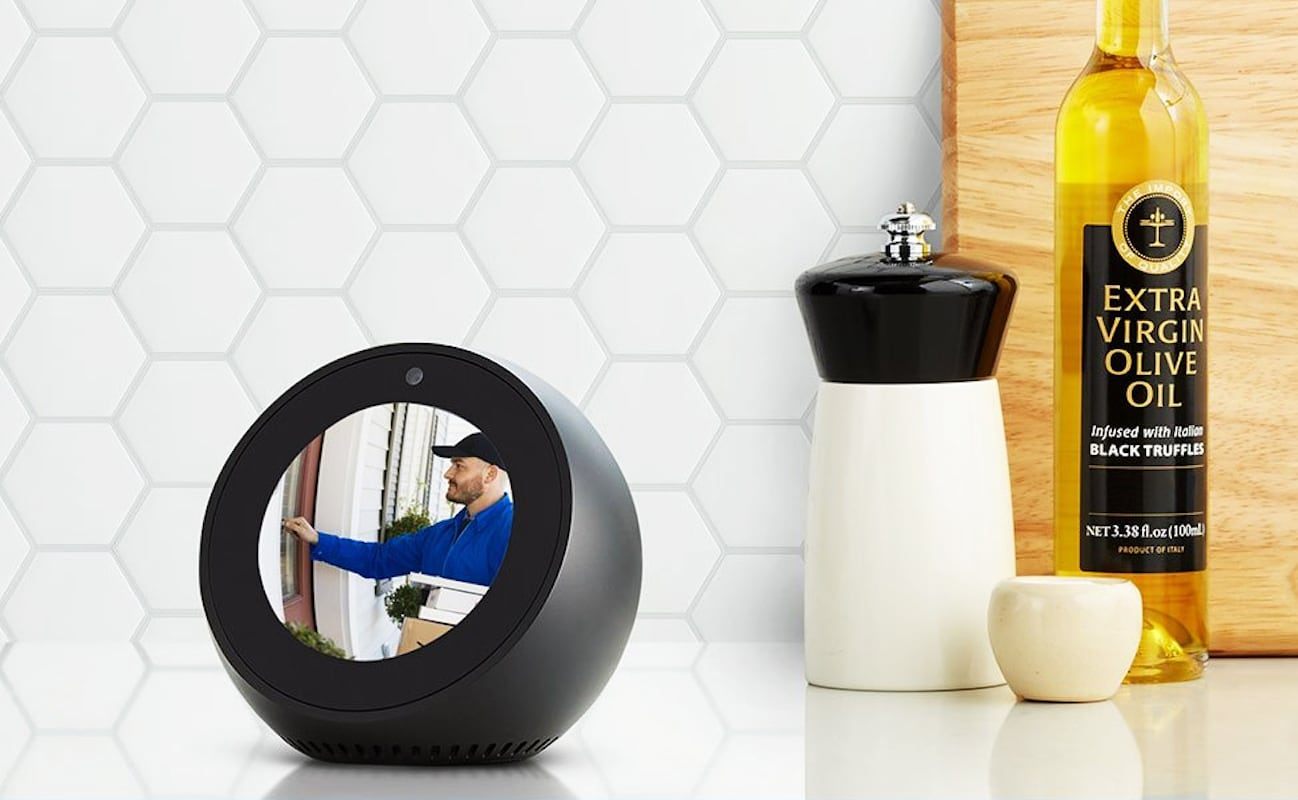 Amazon Echo Spot Alexa Alarm Clock