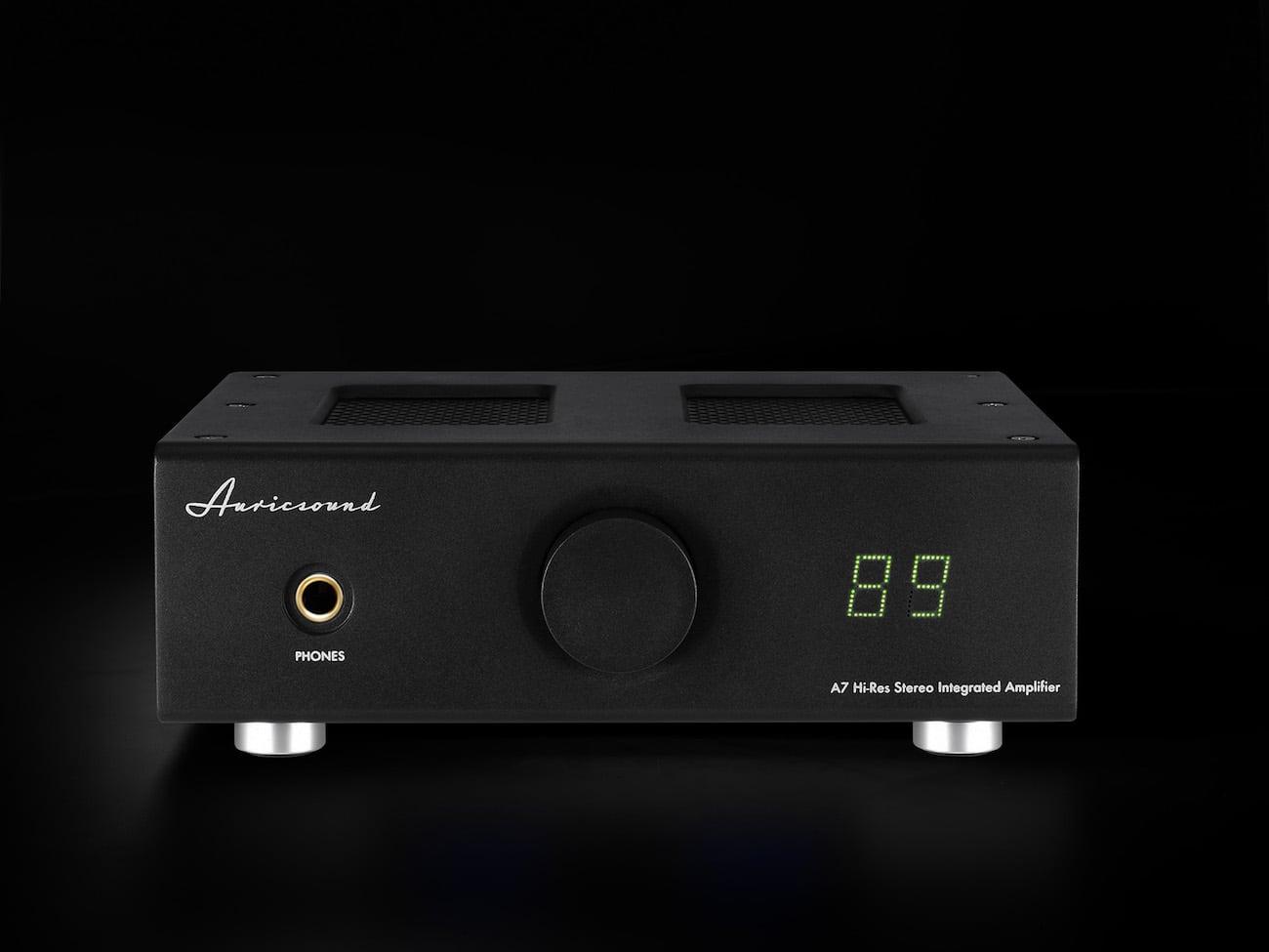 AuricSound A7 Vacuum Tube Amp Stereo Hybrid