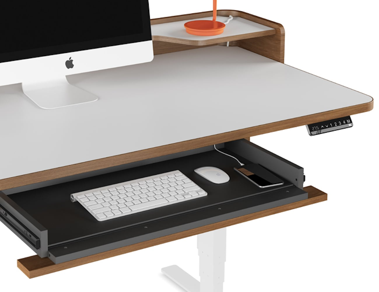 BDi Kronos Lift Electronic Adjustable Desk