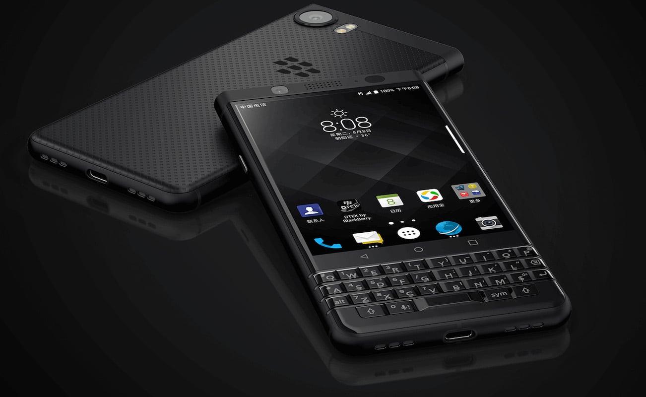 blackberry keyone black edition smartphone gadget flow