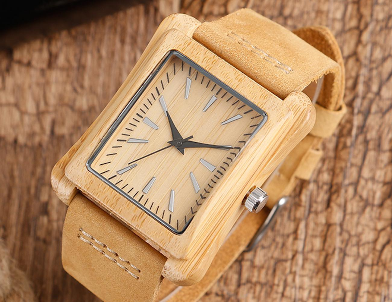 Creative+Rectangular+Dial+Watch