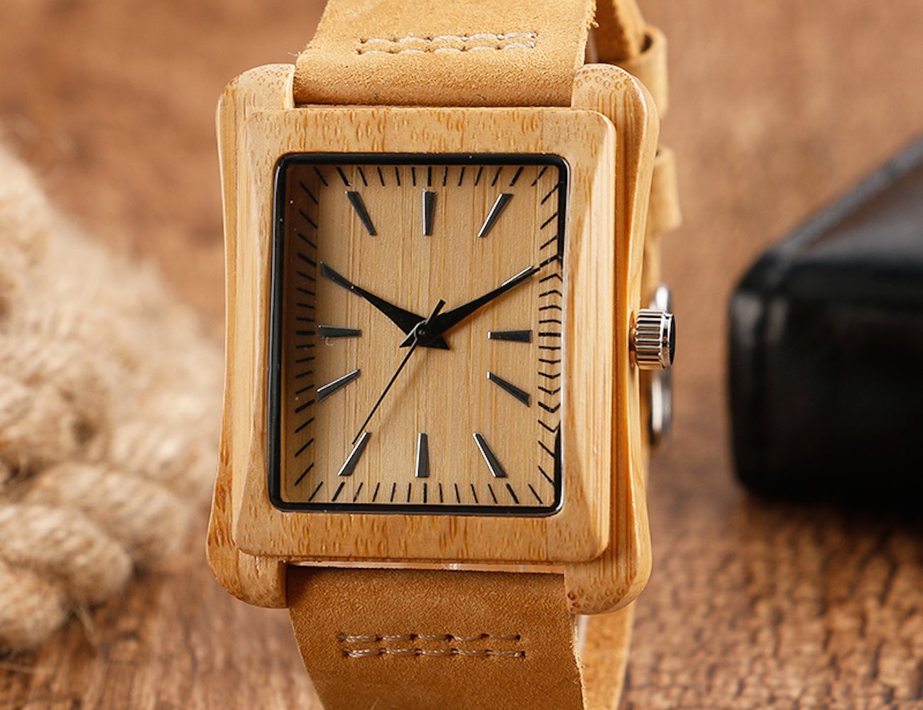 Creative Rectangular Dial Watch