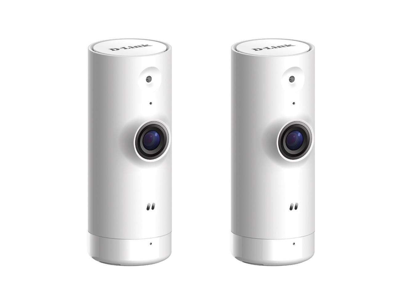 D-Link Mini HD Wi-Fi Camera 2-Pack