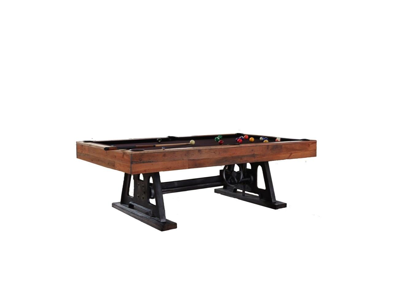 ... Da Vinci Reclaimed Wood Billiards Table