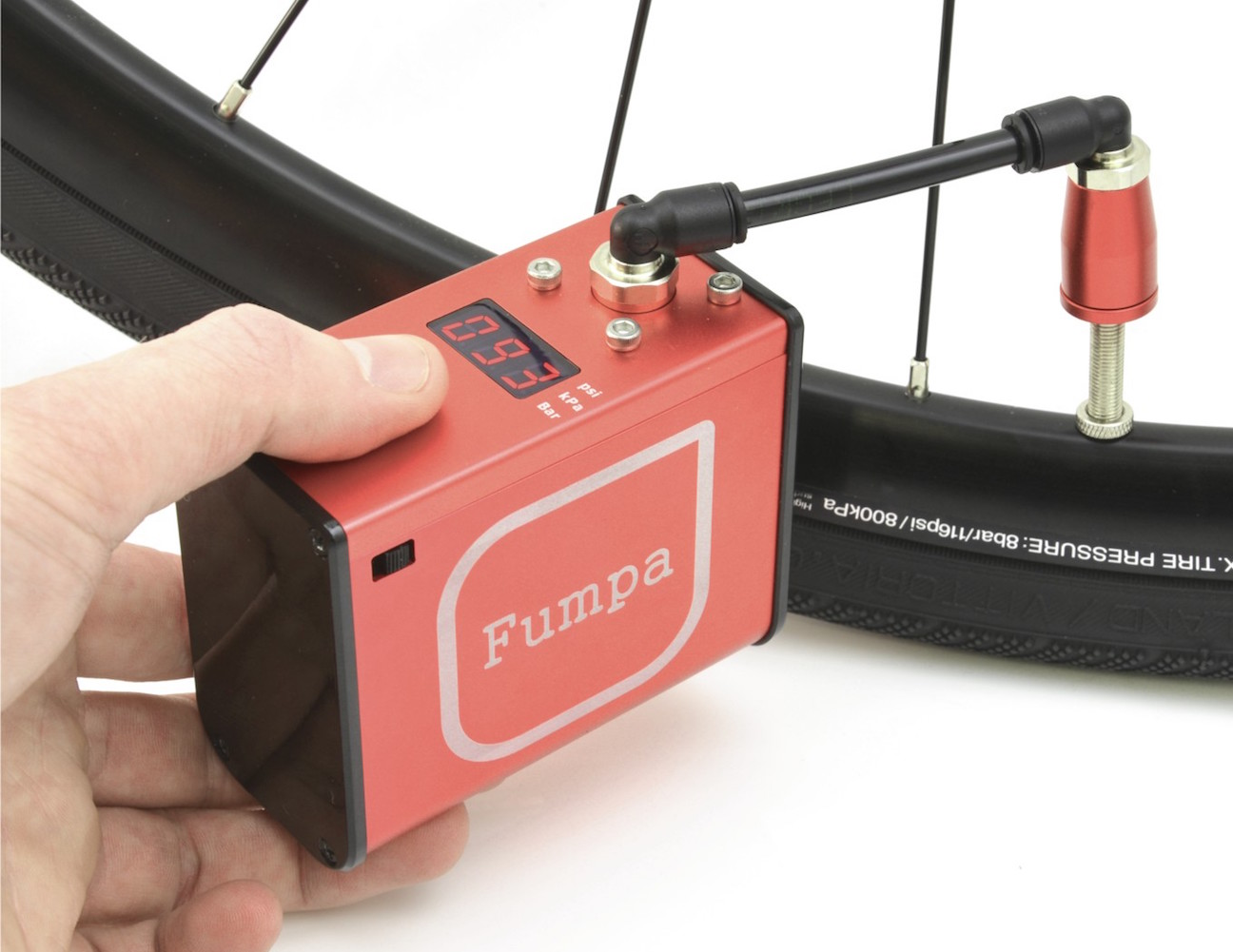 Fumpa Battery-Powered Portable Bicycle Pump