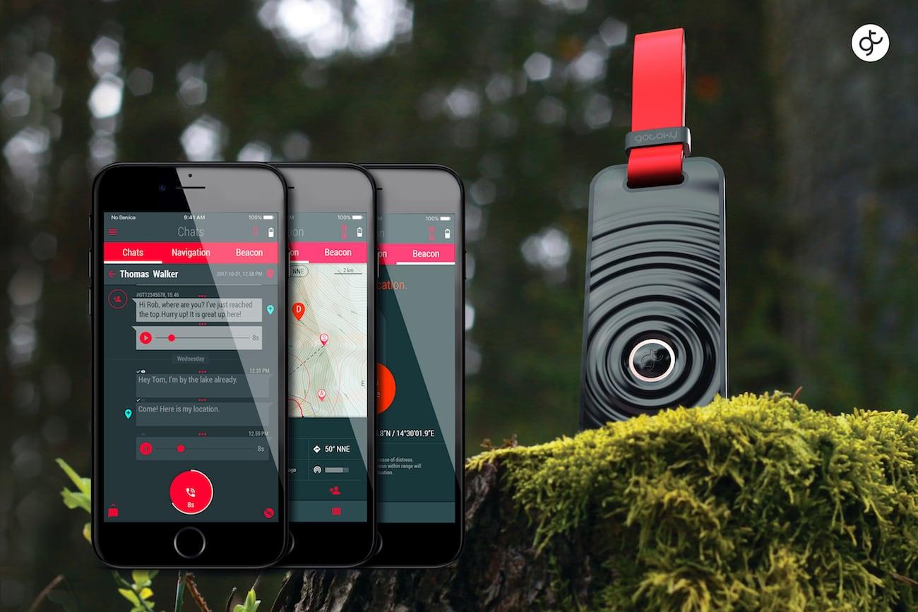 GOTOKY 100% Off-Grid Communication Device