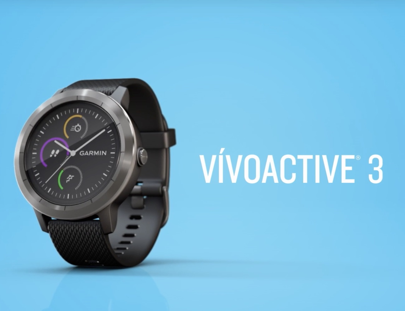 garmin vivoactive 3 smartwatch gadget flow. Black Bedroom Furniture Sets. Home Design Ideas