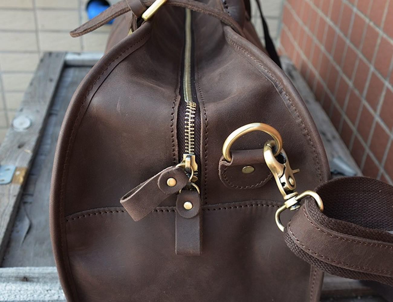 Genuine Leather Weekender Bag
