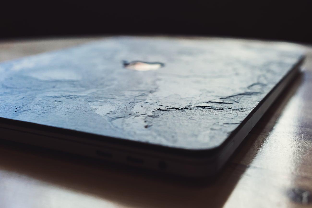 Gimmestone Real Stone MacBook Covers