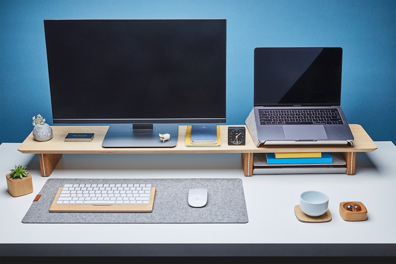 computer print desktop office table pc products furniture wooden desk homcom home shelf with study