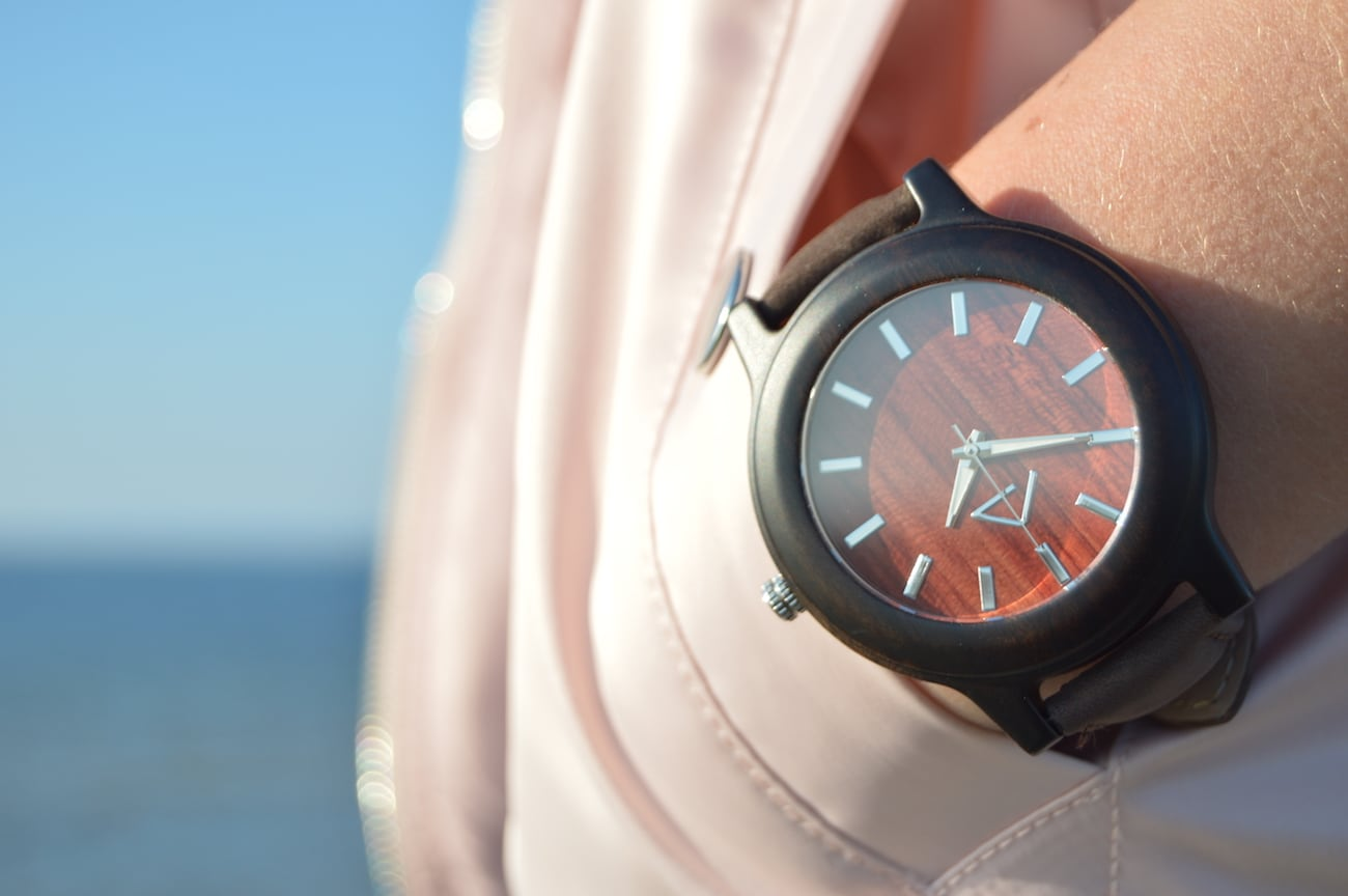 HEADPEACE Nature-Inspired Wooden Watches