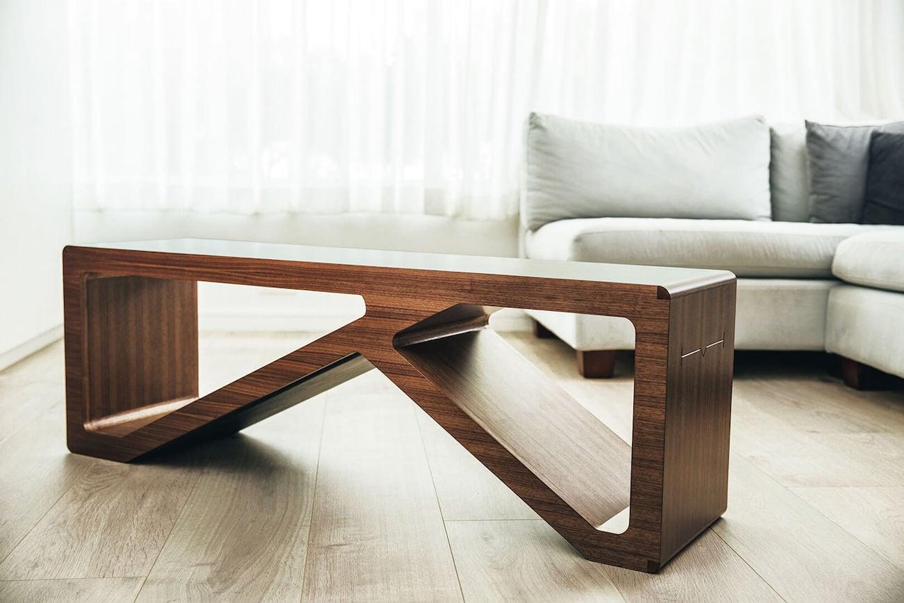 Habit Multifunctional Wood Fitness Furniture Gadget Flow