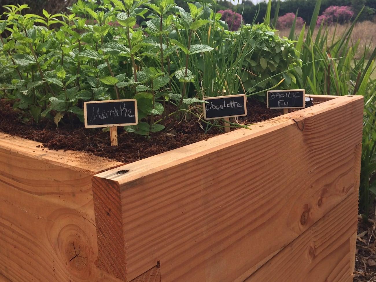 Haut Potager Innovative Kitchen Garden