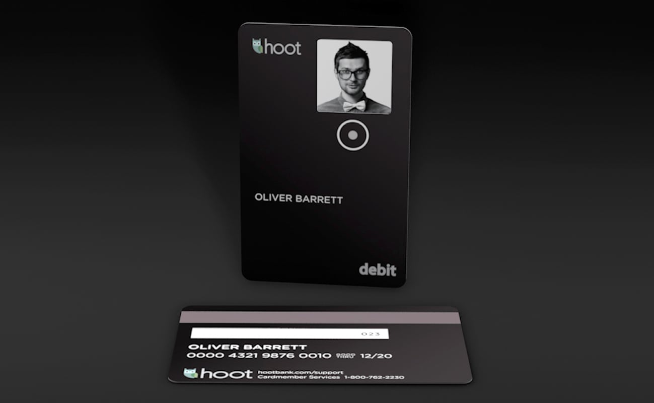 Hoot Bank Smart Debit Card