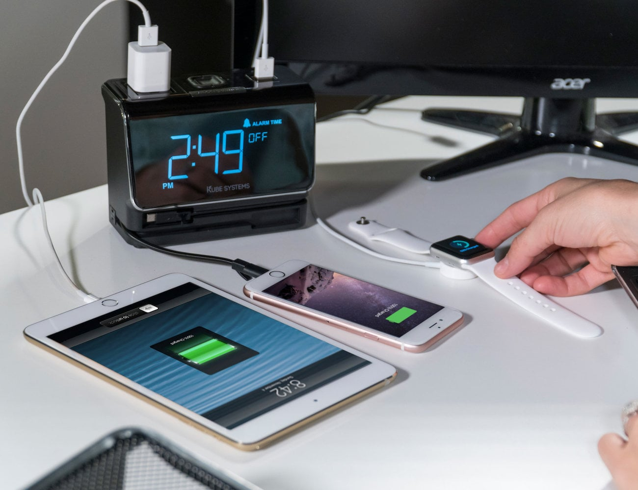 Kurrent 6-in-1 Charging Clock