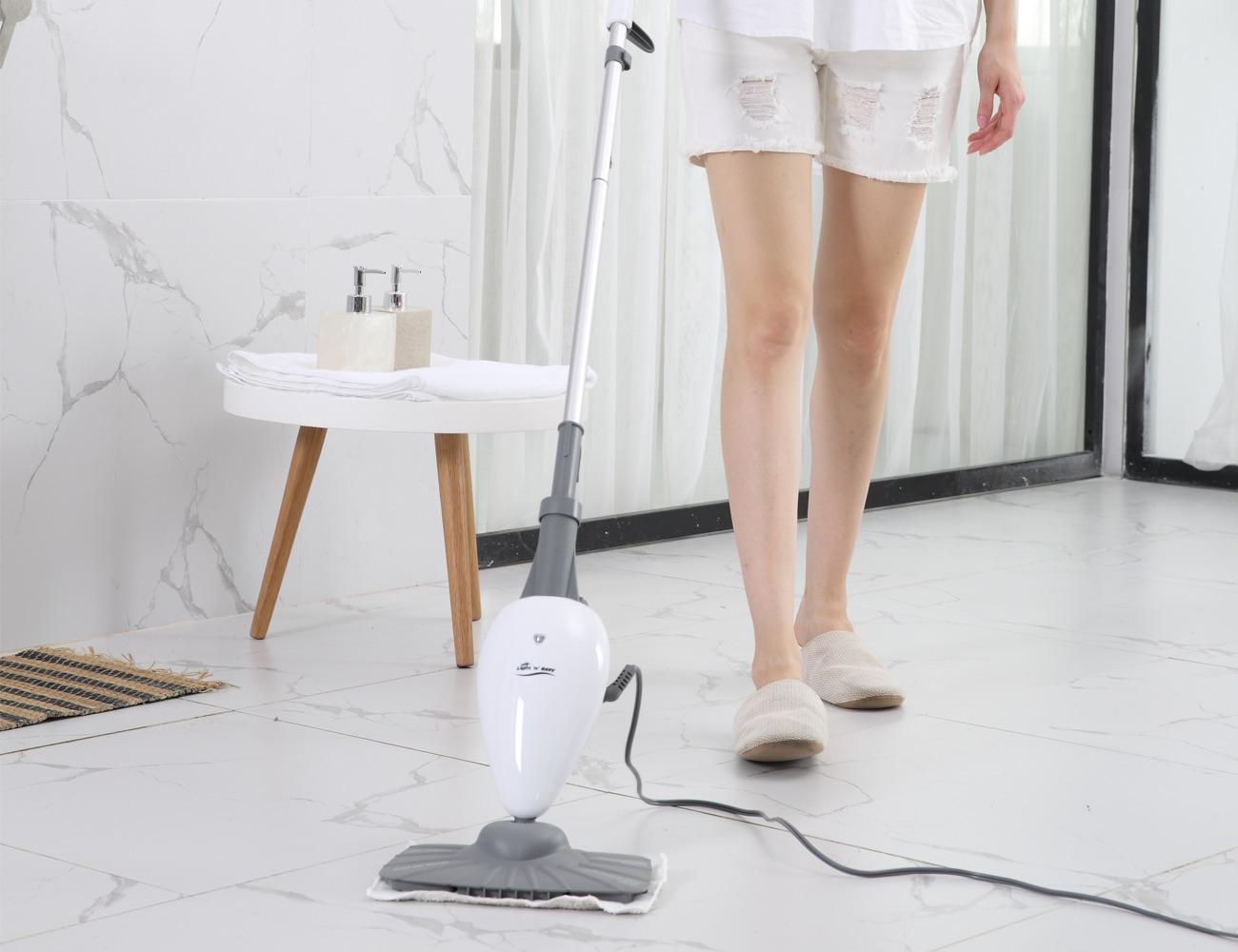 Light 'n' Easy Sanitizing Steam Mop