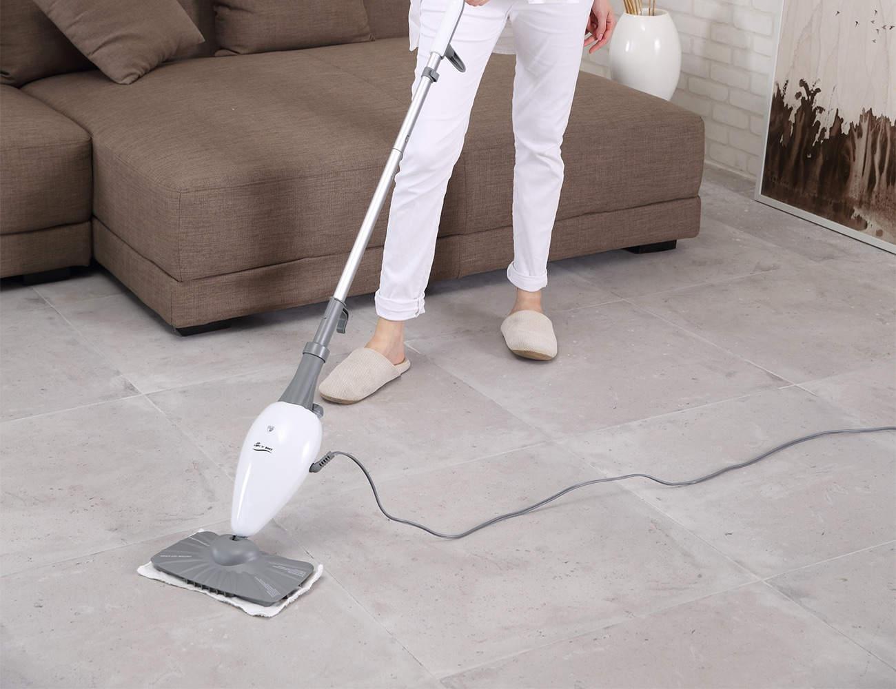 how to use easy steam steam mop