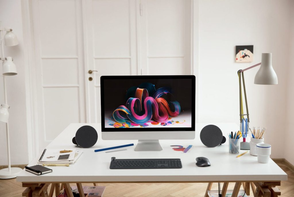 Logitech MX Sound Motion Activated Speakers
