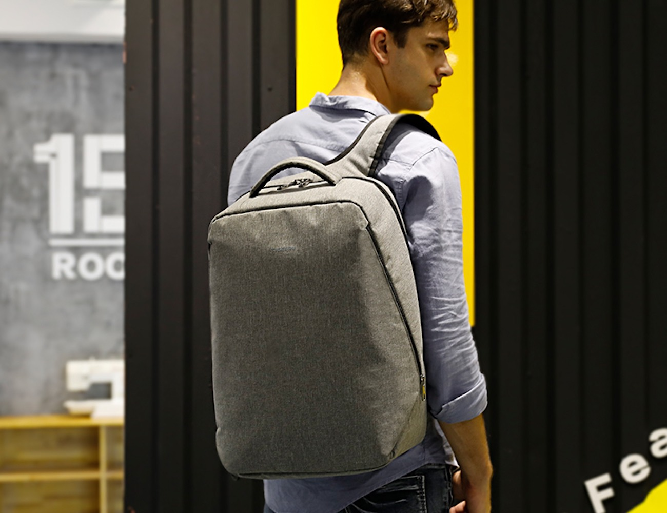 Minimalist Slim Urban Backpack