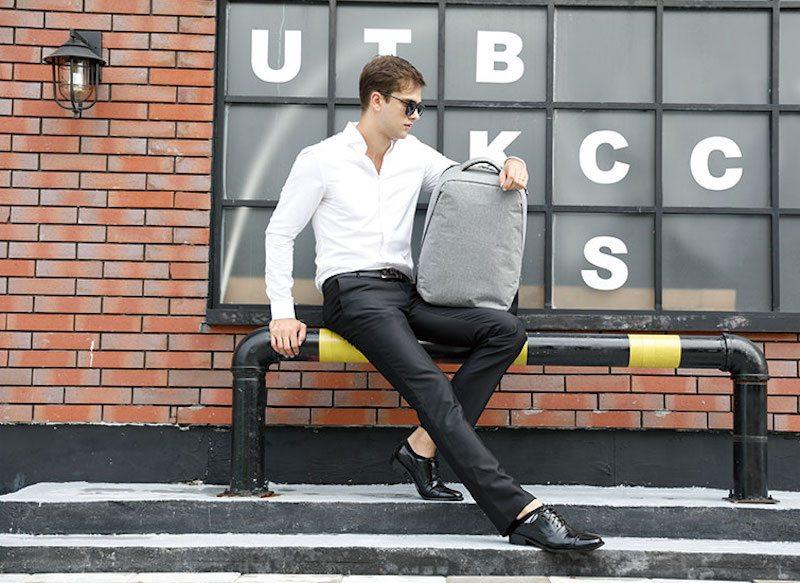 Minimalist Slim Urban Backpack