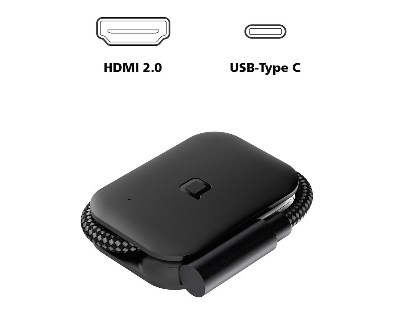Nonda USB-C HDMI Foldable Adapter