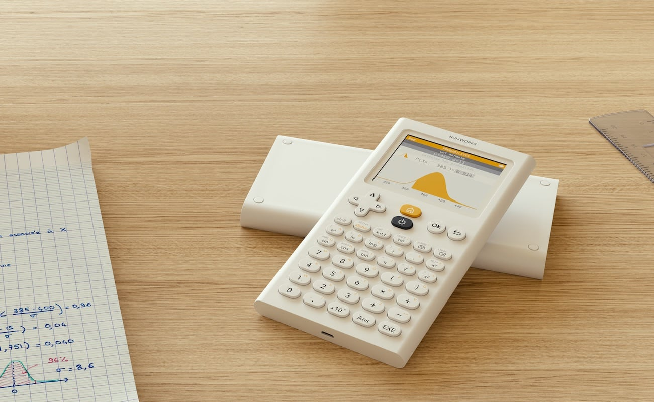 NumWorks Modern Graphing Calculator