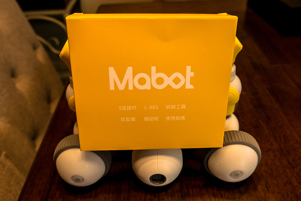 Mabot Robot Offers Modular and LEGO-Compatible Fun