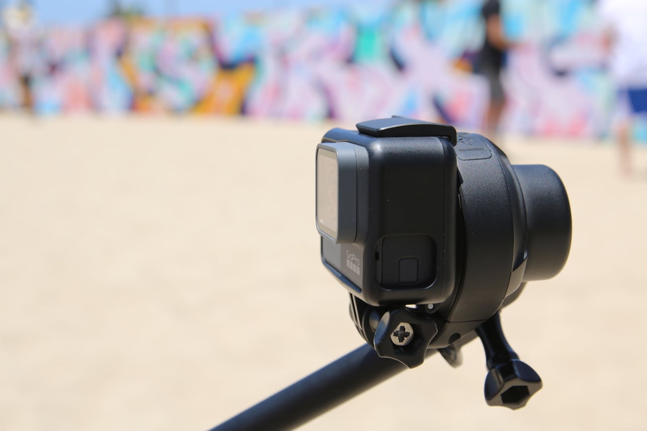 Quark Compact Waterproof GoPro Stabilizer