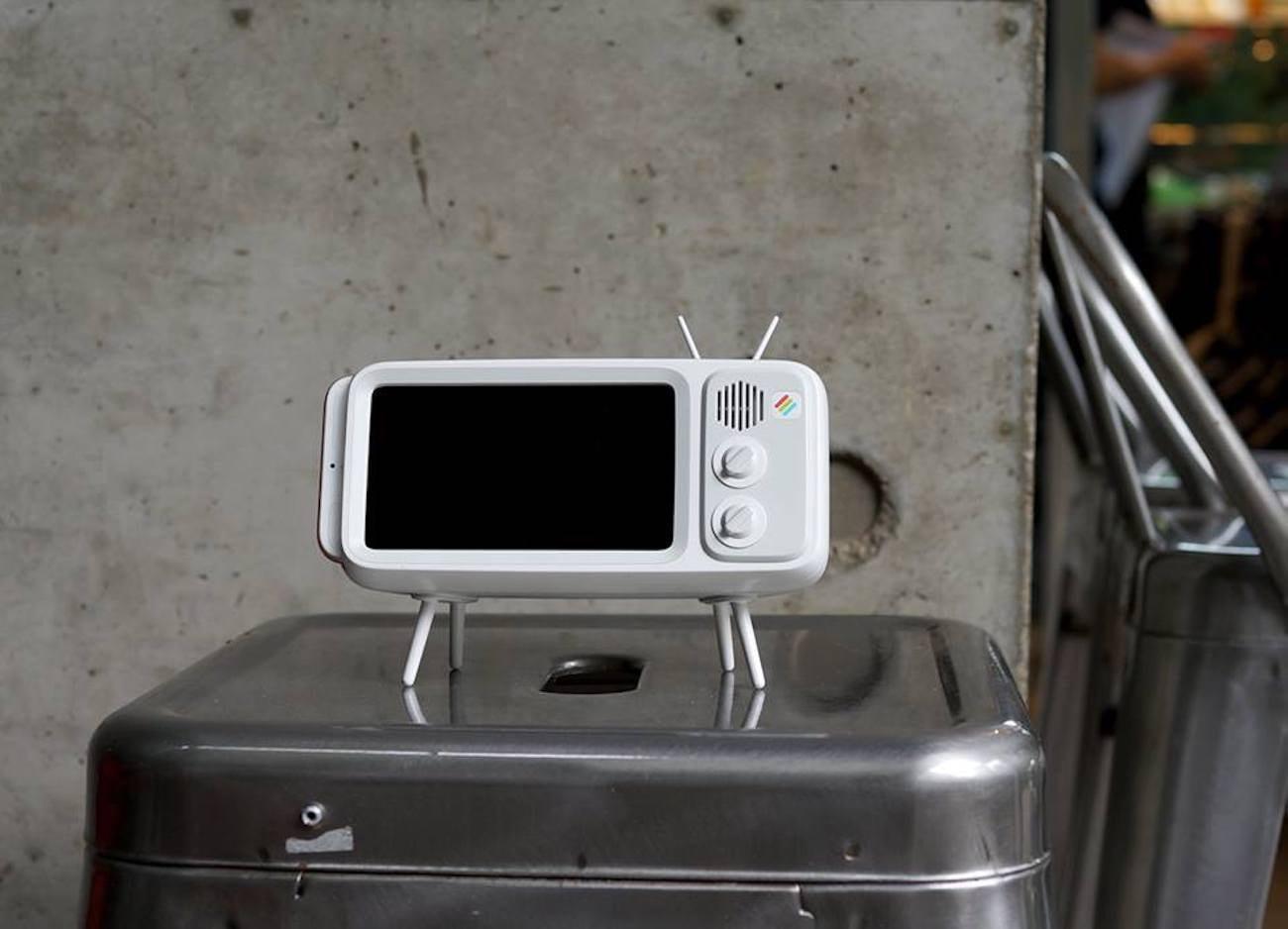 Retroduck Vintage TV iPhone Dock » Gadget Flow
