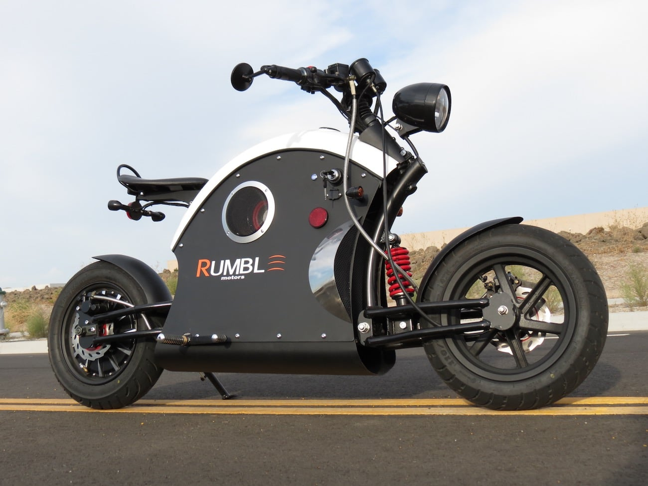Rumble E-Bike Cafe Racer Scooter