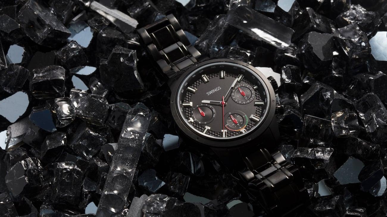 SWINGS Swiss Analog Long Lasting Smartwatch