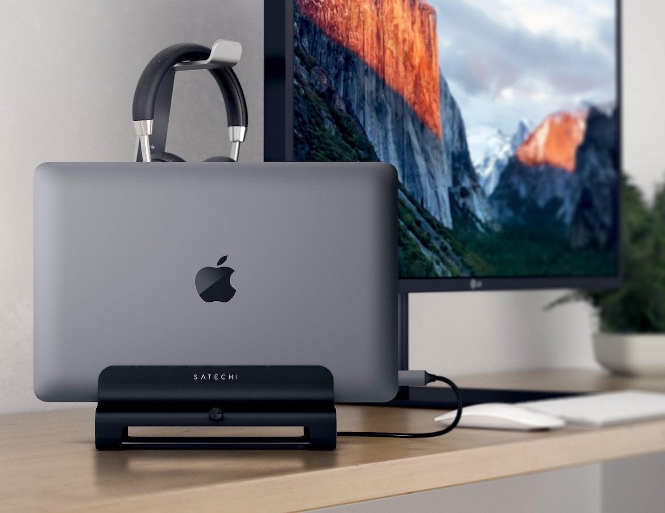 Satechi+Vertical+Aluminum+Laptop+Stand