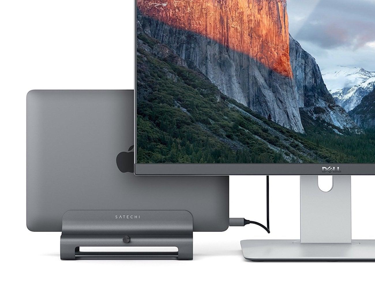 Satechi Vertical Aluminum Laptop Stand