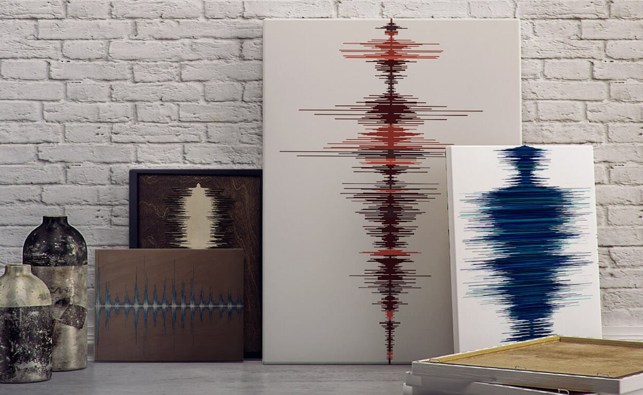 Soundwave Art Custom Sound Art Collection