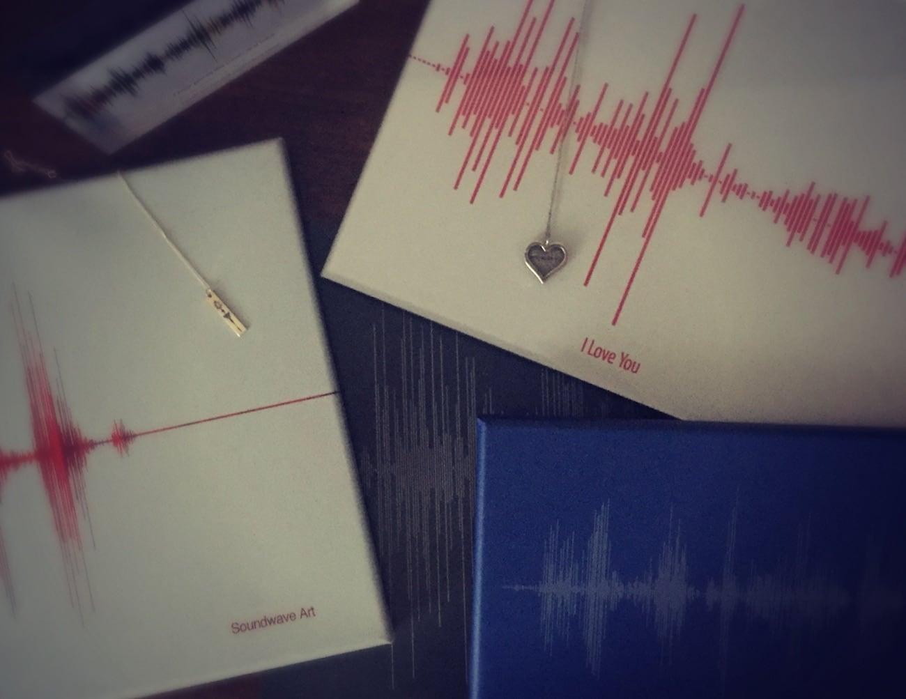 Soundwave Art Custom Sound Art Collection