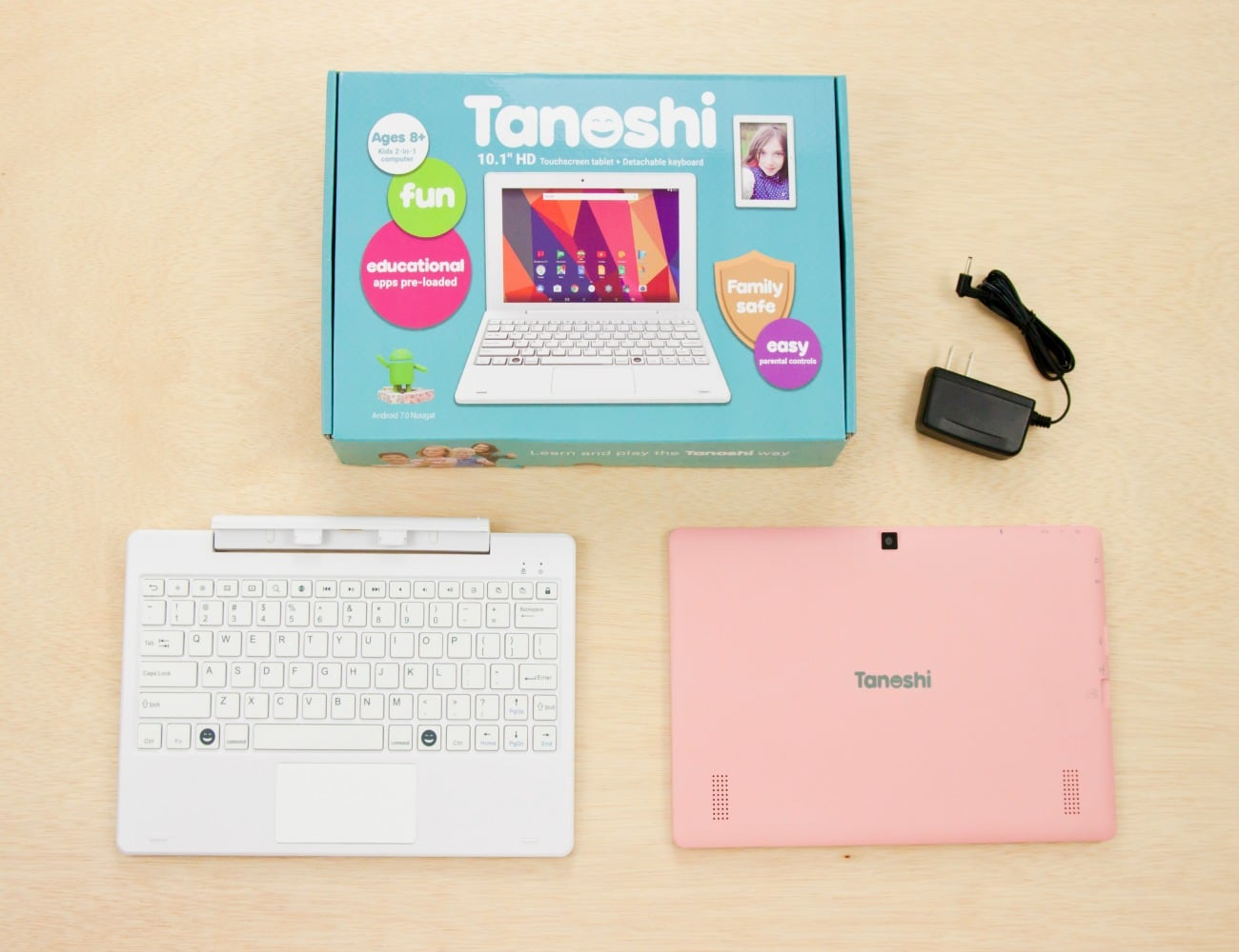 Tanoshi 2-in-1 Computer for Kids Ages 6-12