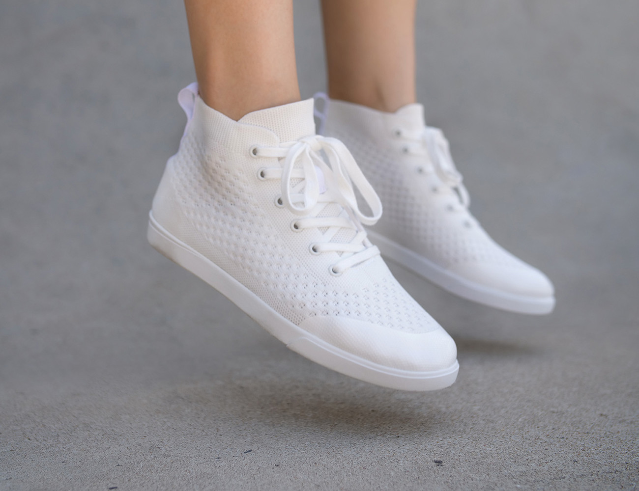 The Legacy Minimalist High Top Sneakers