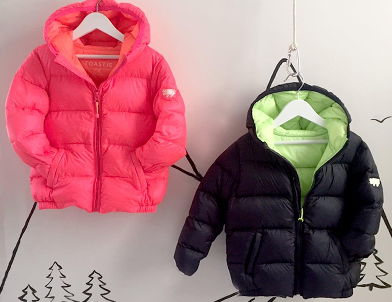 Toastie Puffer Premium Children's Down Jackets
