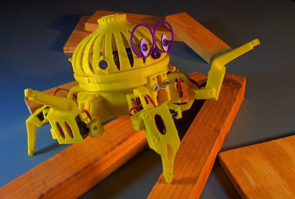 Vorpal+Combat+Hexapod+Robot