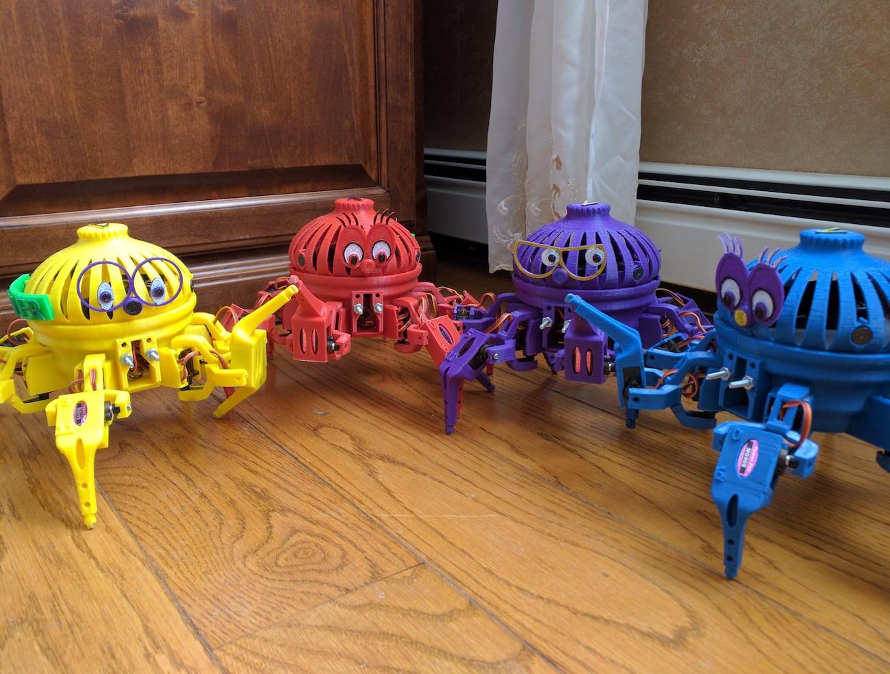 Vorpal Combat Hexapod Robot