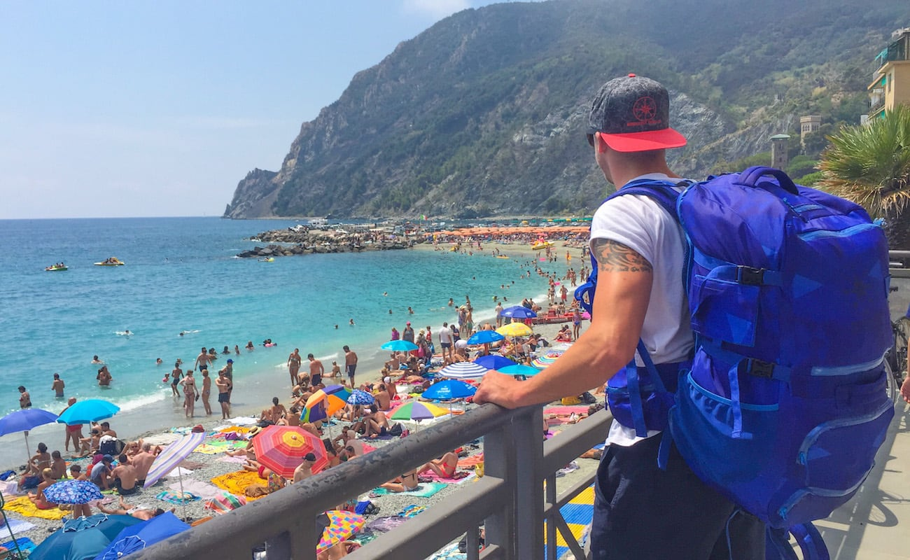 Wanderlust+Travel+Backpack