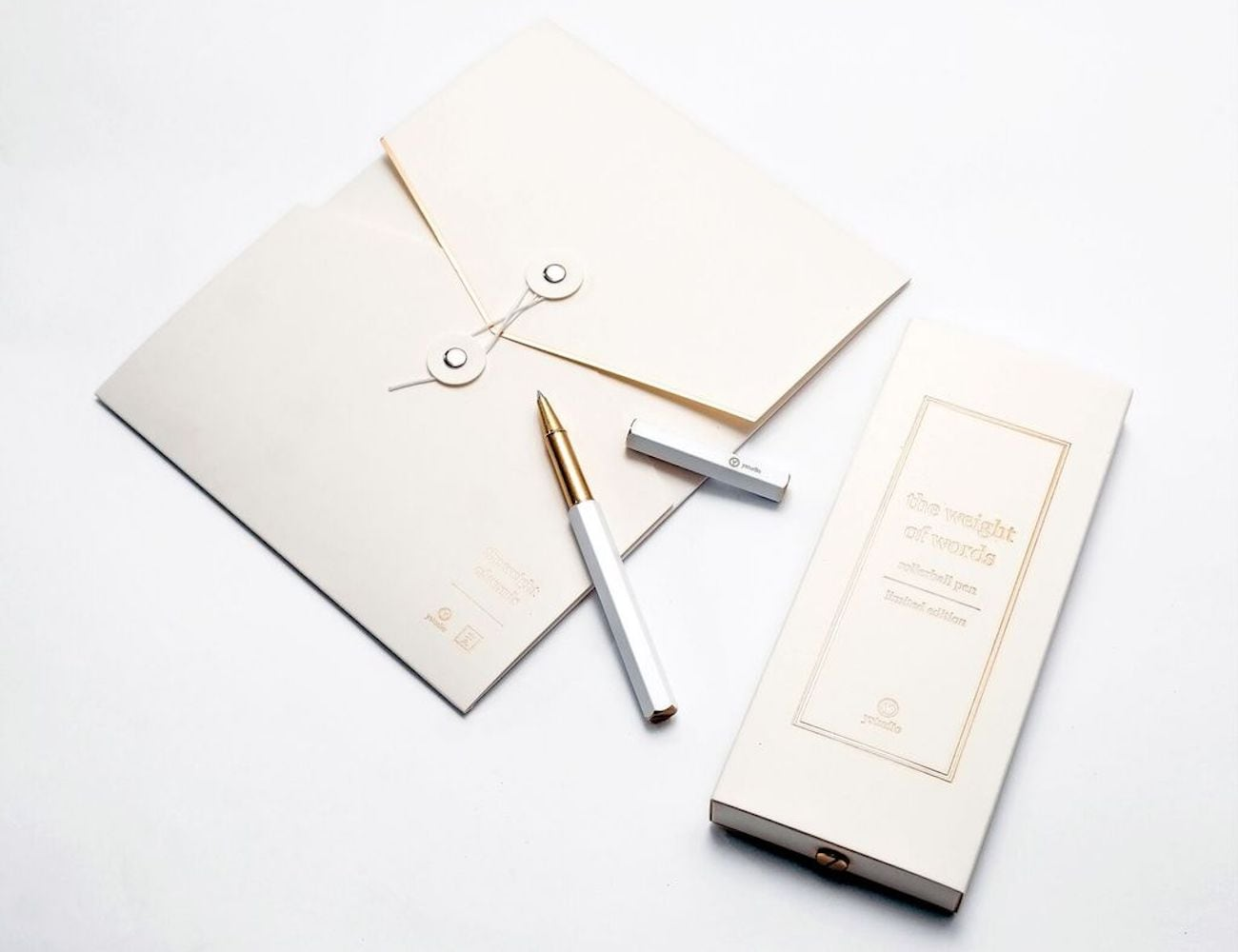 Ystudio+Limited+Edition+White+Rollerball+Pen