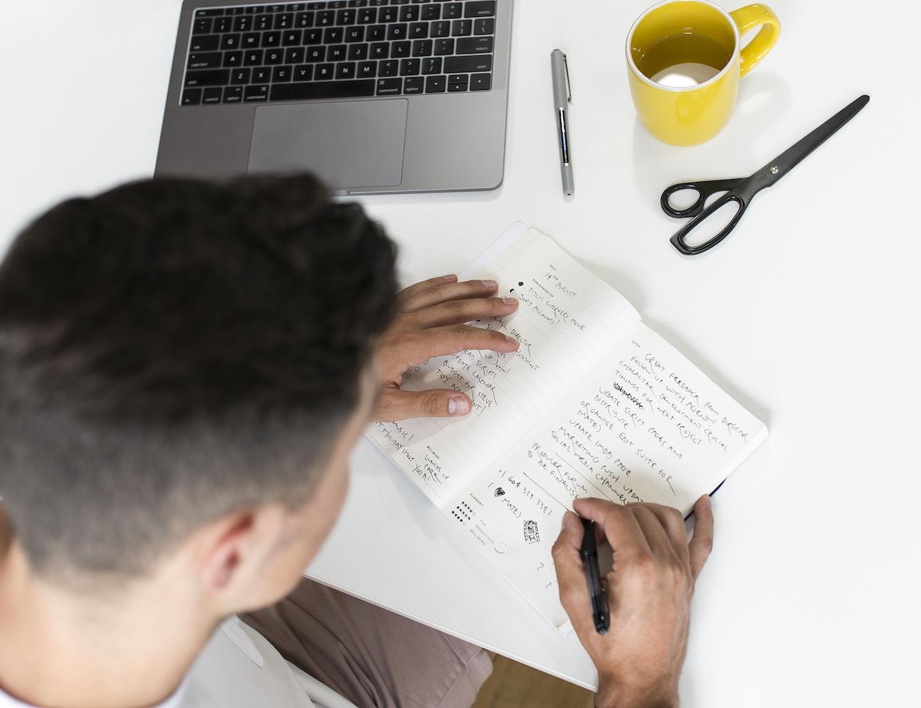 The Focus Journal Task-Based Organizer
