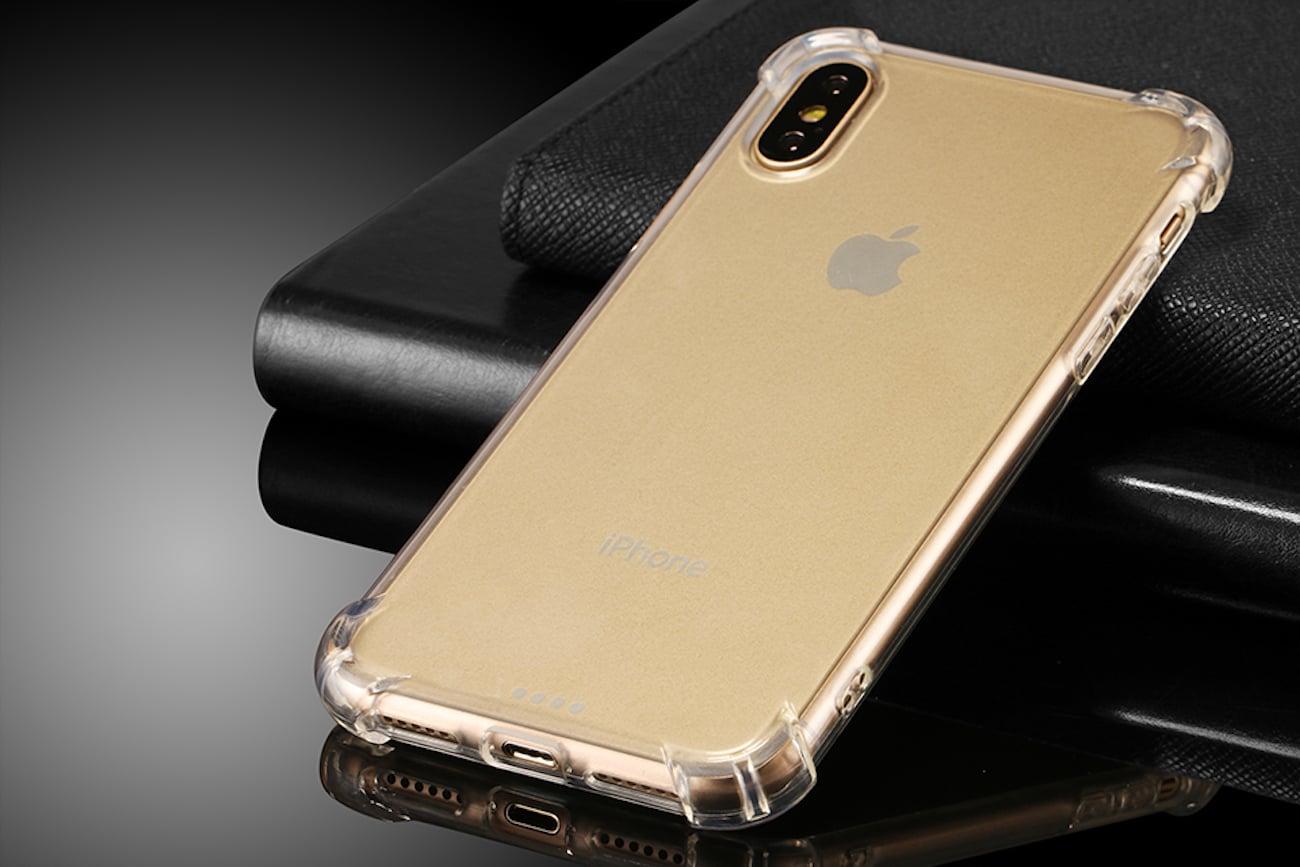 iPhone X Transparent Cover