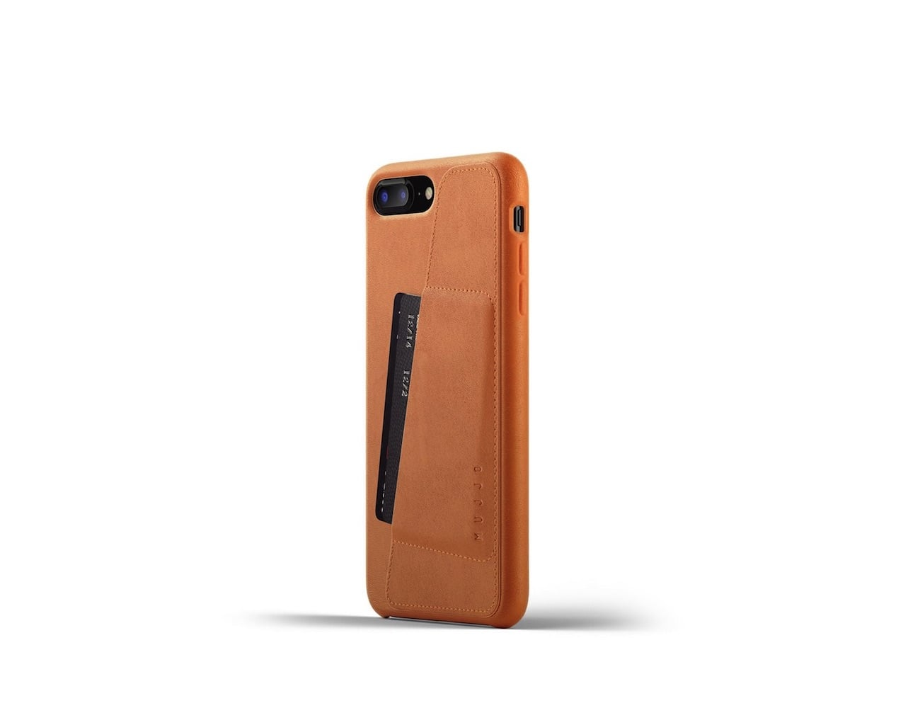 iPhone 8 Plus Leather Wallet Case by Mujjo