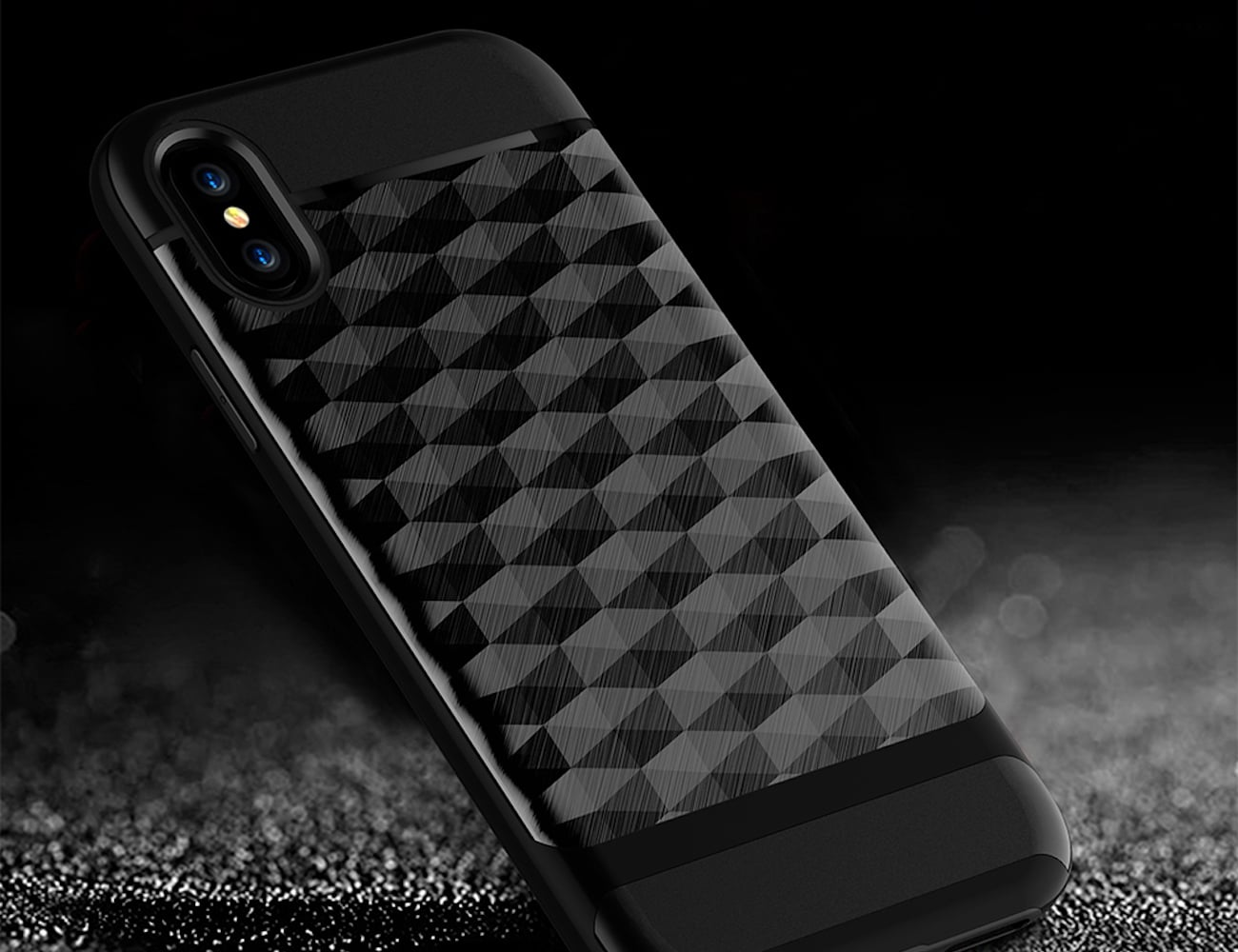iPhone X Geometric Patterned Case