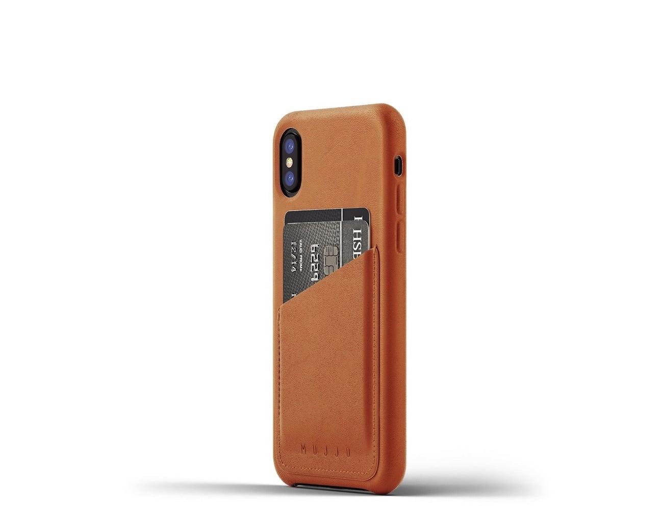 iPhone X Leather Wallet Case by Mujjo