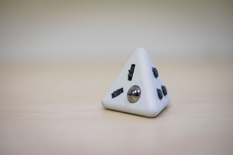 Tetrafidget Magnetic Pyramid Fidget Toy